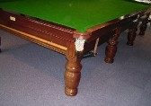 Riley 'Special Club' bulbous leg mahogany c1925