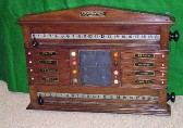 Scoreboards & Cue holders, Cupboard Scoreboards, Antique-Period-Modern