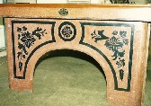 scagliola finish with painted decoration