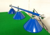blue bar with 3 x blue enamel coolie shades (2)